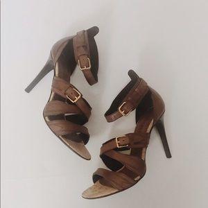 Burberry heel sandals
